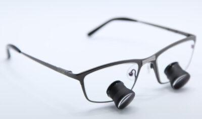 SLT occhiale in titanio